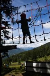 Für KInder ab vier Kletterpark am Katschberg - Familienurlaub Österreich