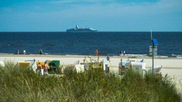 Flusskreuzfahrt Oder - Liane Ehlers - 24 Usedom Strand