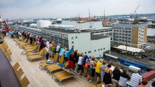 Kreuzfahrt mit der Costa Magica - Liane Ehlers - 02 Bremerhaven