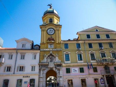 Kreuzfahrt in Kroatien - Liane Ehlers - 07 Rijeka
