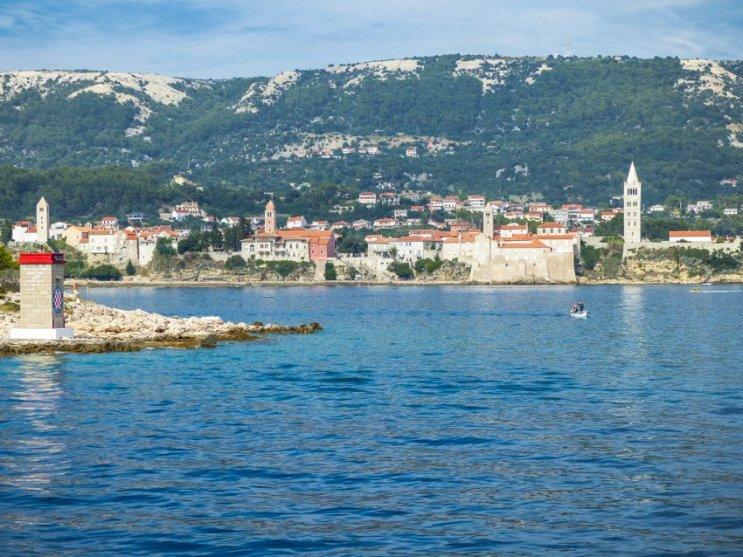 Kreuzfahrt in Kroatien - Liane Ehlers - 12 Rab