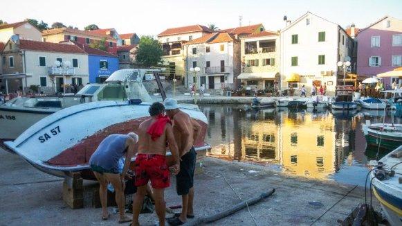 Kreuzfahrt in Kroatien - Liane Ehlers - 22 Sali