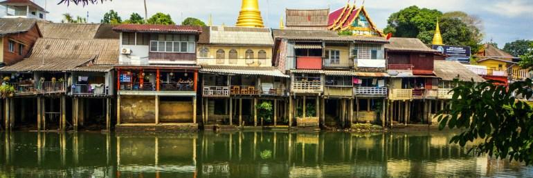 Urlaub in Thailand - Chanthaburi, Uferzeile 03, Foto Martin Cyris