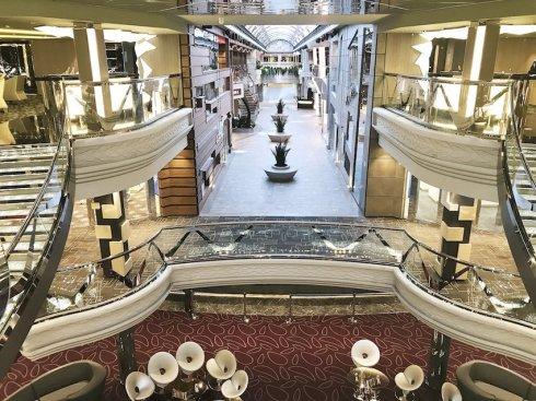 MSC Meraviglia, Infinity Atrium