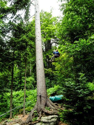 ziplining fichtelgebirge - ochsenkopf - wilfried geiselhart-Ochsenkopf Breitengrad53_2