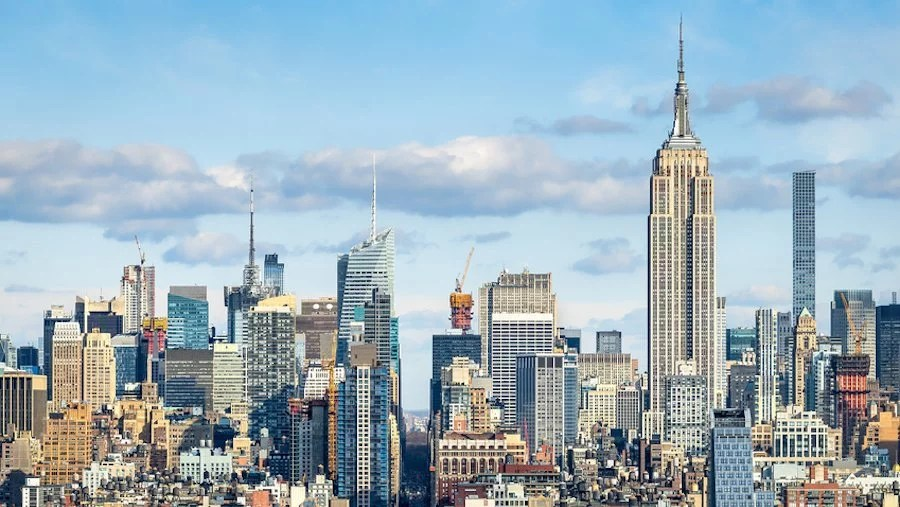 Urlaub im April - New York
