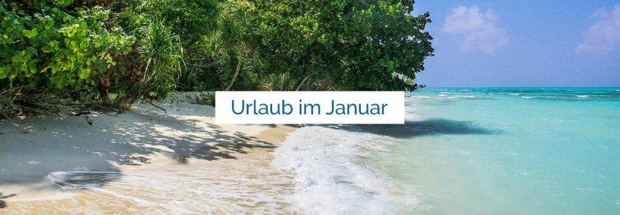 Urlaub im Januar