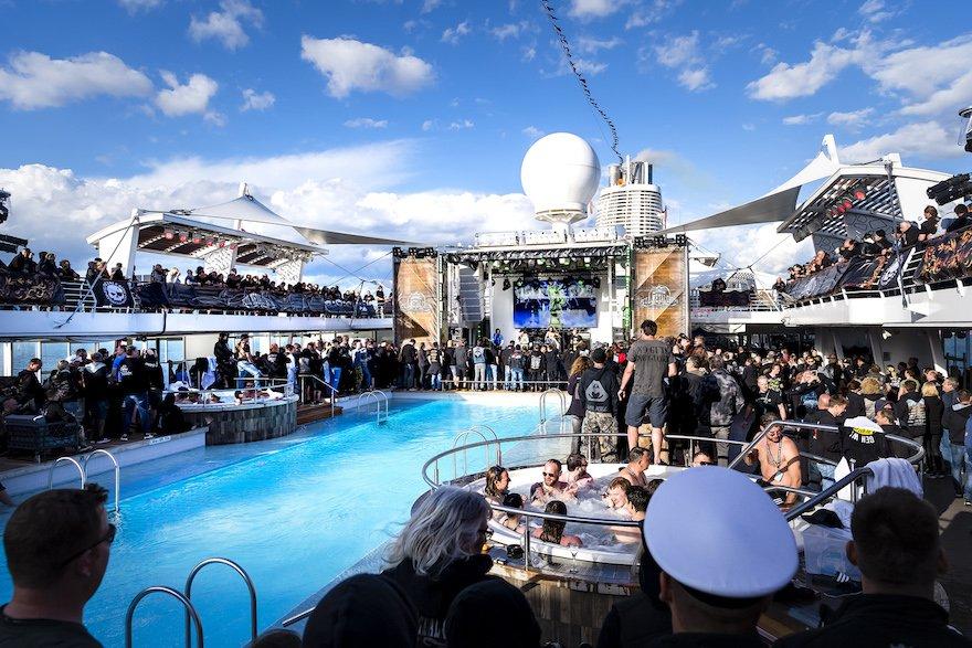 Full Metal Cruise 8 auf der Mein Schiff 6. (Fotos: TUI Cruises)