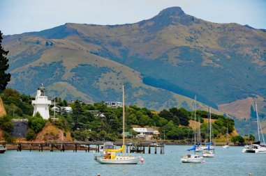 Kreuzfahrt Norwegian Jewel Neuseeland - 12-Sussanne-Mueller-Akaroa Leuchtturm-Breitengrad53-Reiseblog