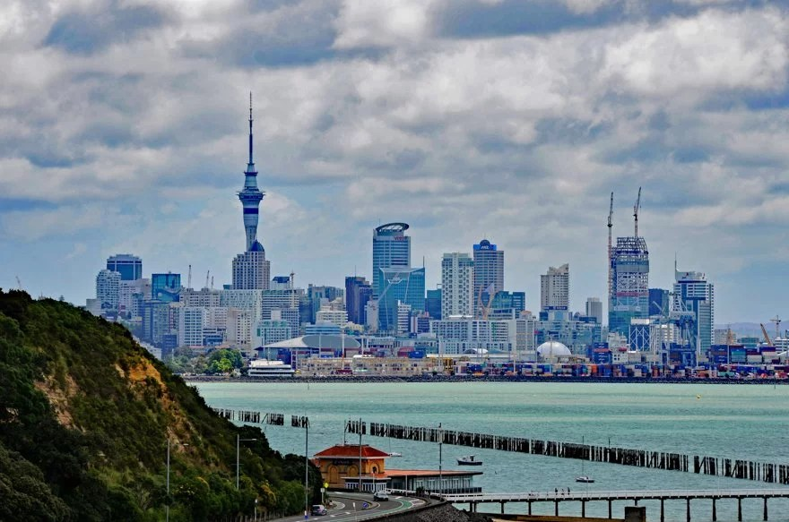 Kreuzfahrt Norwegian Jewel Neuseeland - 4-Susanne-Mueller-AucklandSkyline-Breitengrad53-Reiseblog
