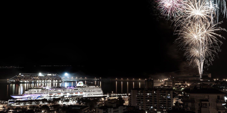Taufe AIDAmira Mallorca