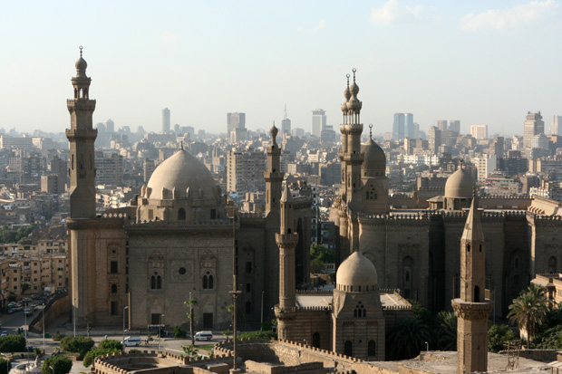 Die Sultan Hassan Moschee war einst die größte der Welt.
