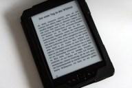 Mein E-Book auf einem Kindle