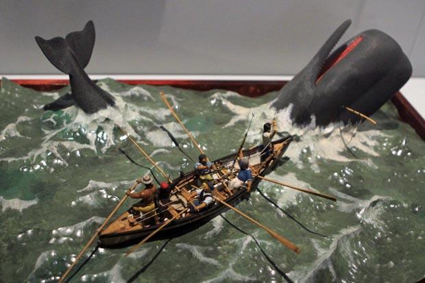 Ein Unterbereich widmet sich dem Walfang