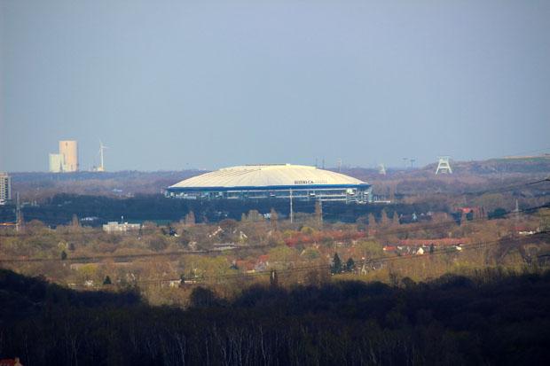 Die Veltins Arena ist die Heimat von Schalke 04 und wunderschön zu sehen
