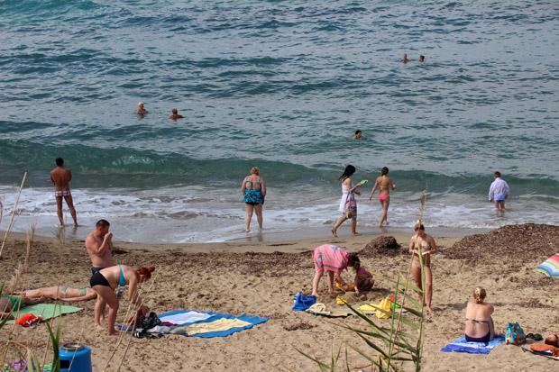An den Stränden von Paphos kann man fast ganzjährig baden