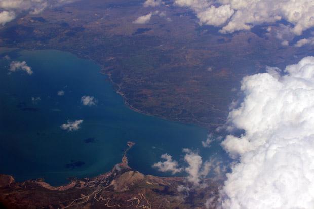 Ein See rund 100 km nördlich von Antalya