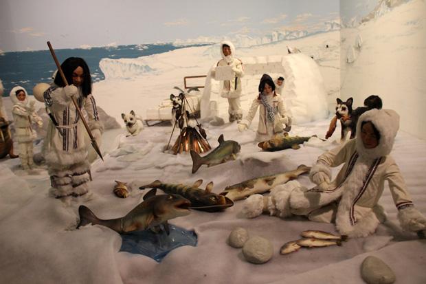 Eskimos im Freizeitpark Sommerrodelbahn Ibbenbüren