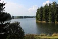 Der Ziegenberger Teich am Harzer Hexenstieg im Harz