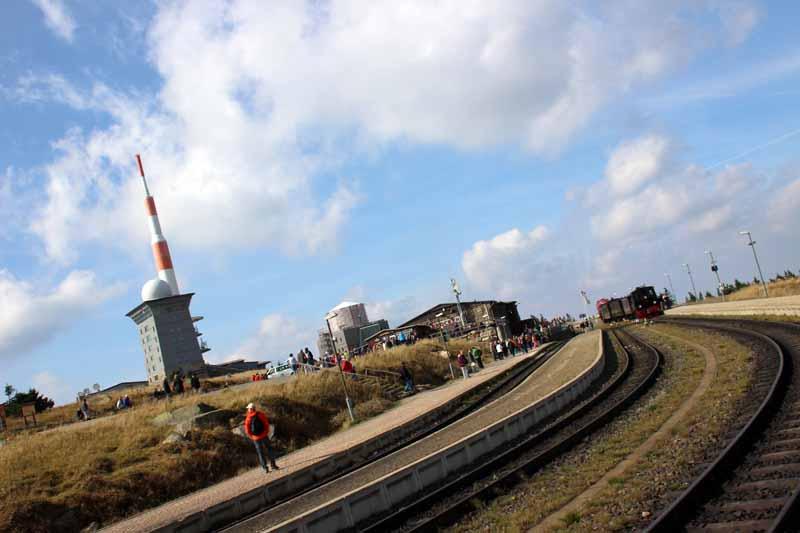 Bahnhofsviertel am Brocken