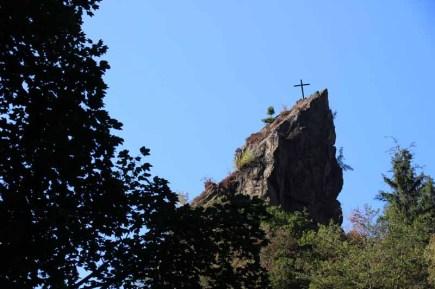 Auch im Harz gibt es Gipfelkreuze