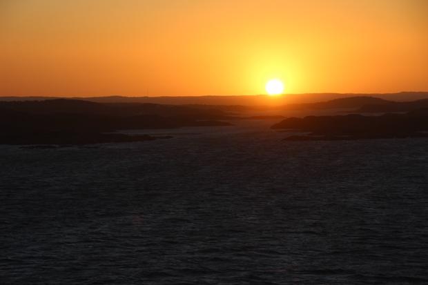 Sonnenaufgänge auf dem Meer sind immer ein besonderes Erlebnis