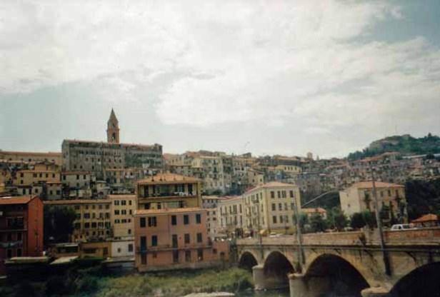 Ventimiglia liegt an der Grenze zu Frankreich