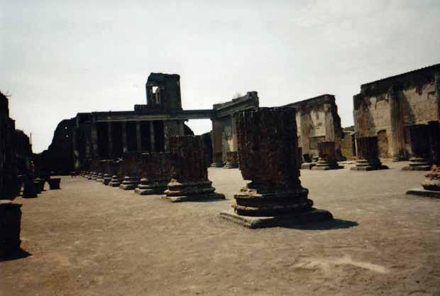 Fast alles in Pompeji ist außergewöhnlich gut erhalten