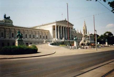Das Parlament in Wien