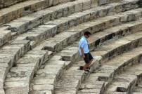 In Kourion auf Zypern bei Limassol zeugen viele Spuren von der Antike. Ob Römer oder Griechen, alle waren sie hier. Dieses Theater zeugt davon