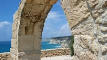 Malerisch liegt die antike Stadt Kourion an der Südwestküste Zypern