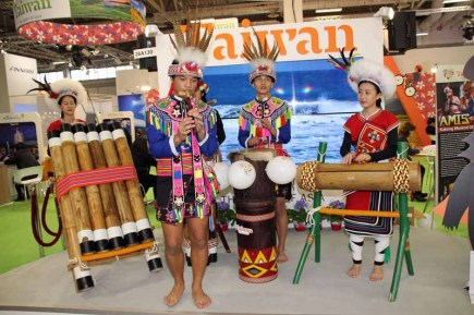 Taiwan bot auf der ITB farbenfrohe Folklore