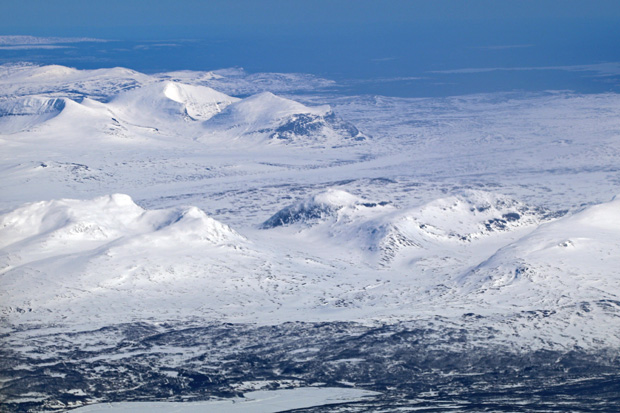 In Richtung Schweden sah es aus wie in der Arktis