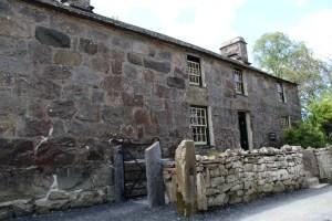 Blick auf die Farm des walisischen Dichters Hedd Wyn