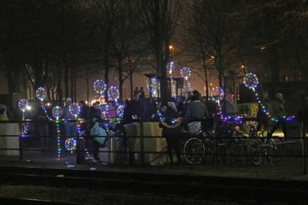 Lichtermark im Landschaftspark Duisburg-Nord