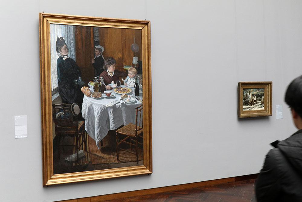 Claude Monet - Das Mittagessen, 1868/69 im Städel Museum