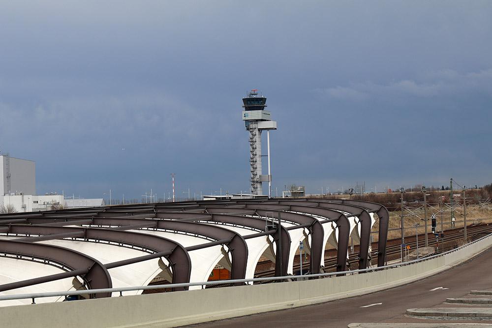 Flughafen Leipzig Halle Bahnhof