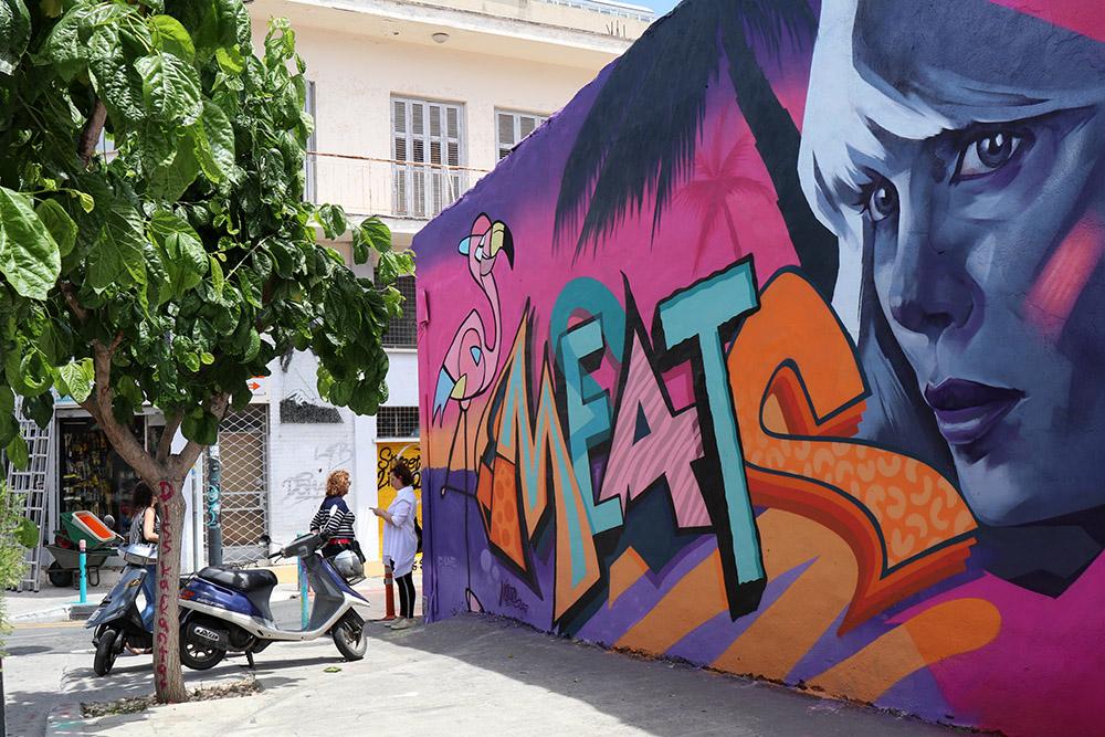 Streetart – Zyperns bunte Seite