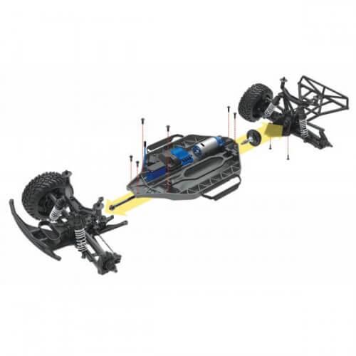 Traxxas Slash 2WD XL-5 TQ RTR ID VR46-TRX58034-1-VR46