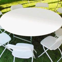 Chair Cover Rentals Hartford Ct Furry Office 60 Inch Round White Plastic Table Rental Canton Rent Where To In Torrington Winsted
