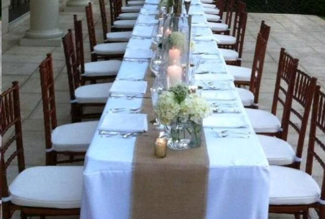 chair cover rentals hartford ct coaster dining chairs table runners rental canton rent in image