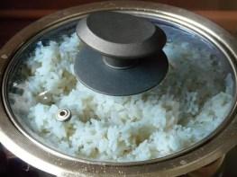 Reis kochen