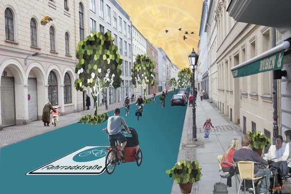 Vision Fahrradstraße, Composing: Rabea Seibert