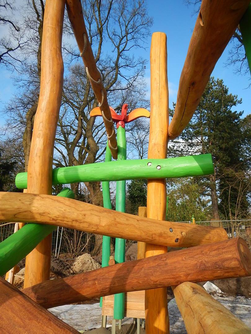 Neubau Kinderspielplatz MinnaRattayWeg  Bremerhavende