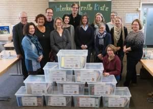 Übergabe der KomIn Bücherkisten an Grundschulen INKI BRemerleselust