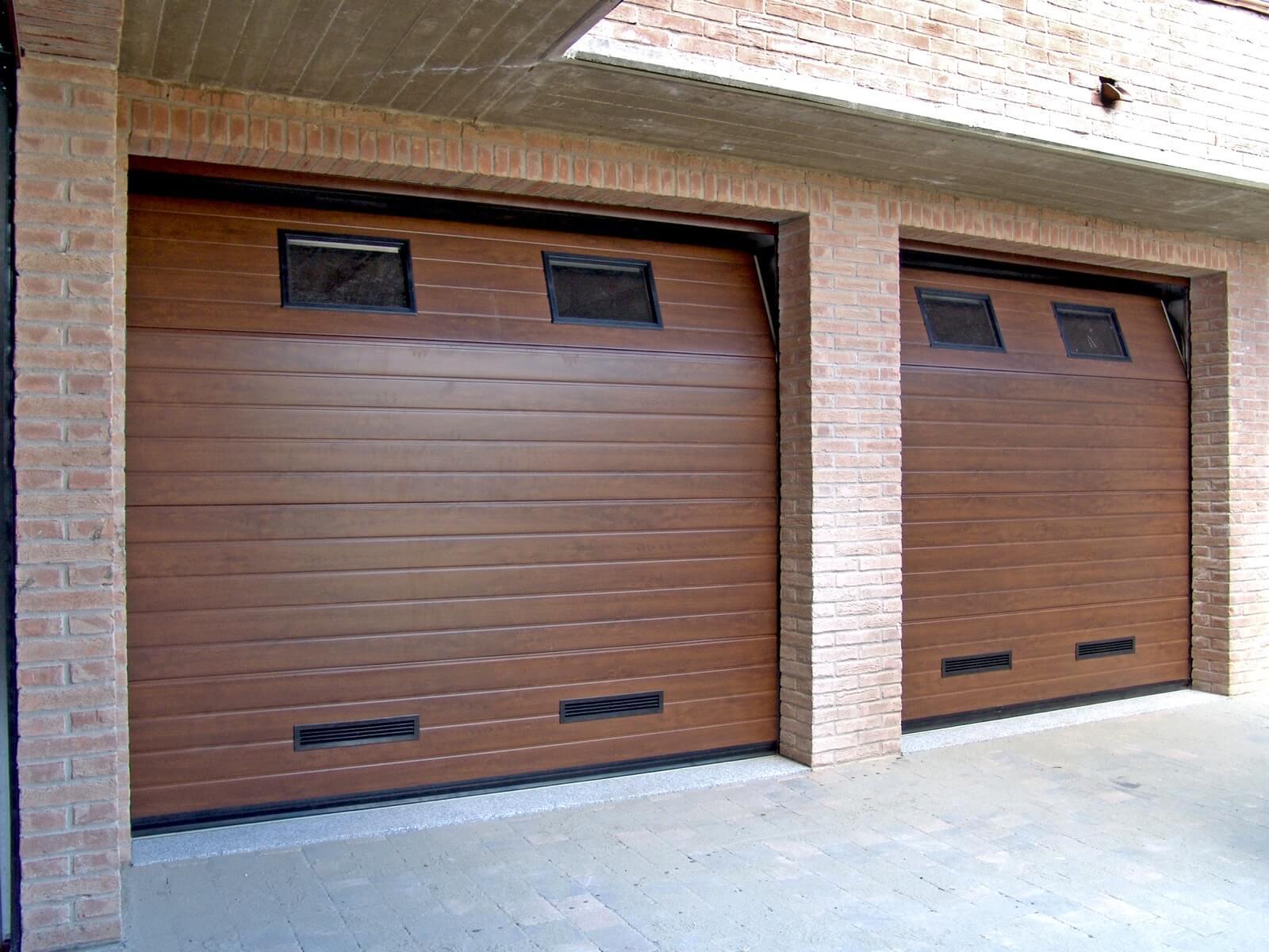 Portone sezionale da garage CPS RL42