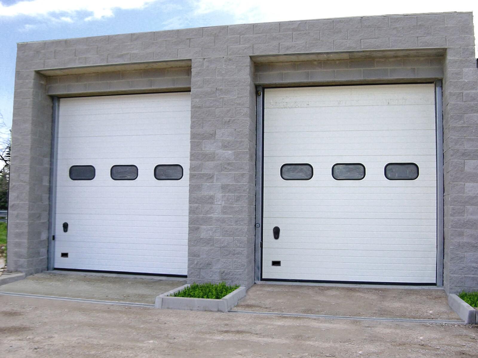 Porta sezionale industriale DCK IL42