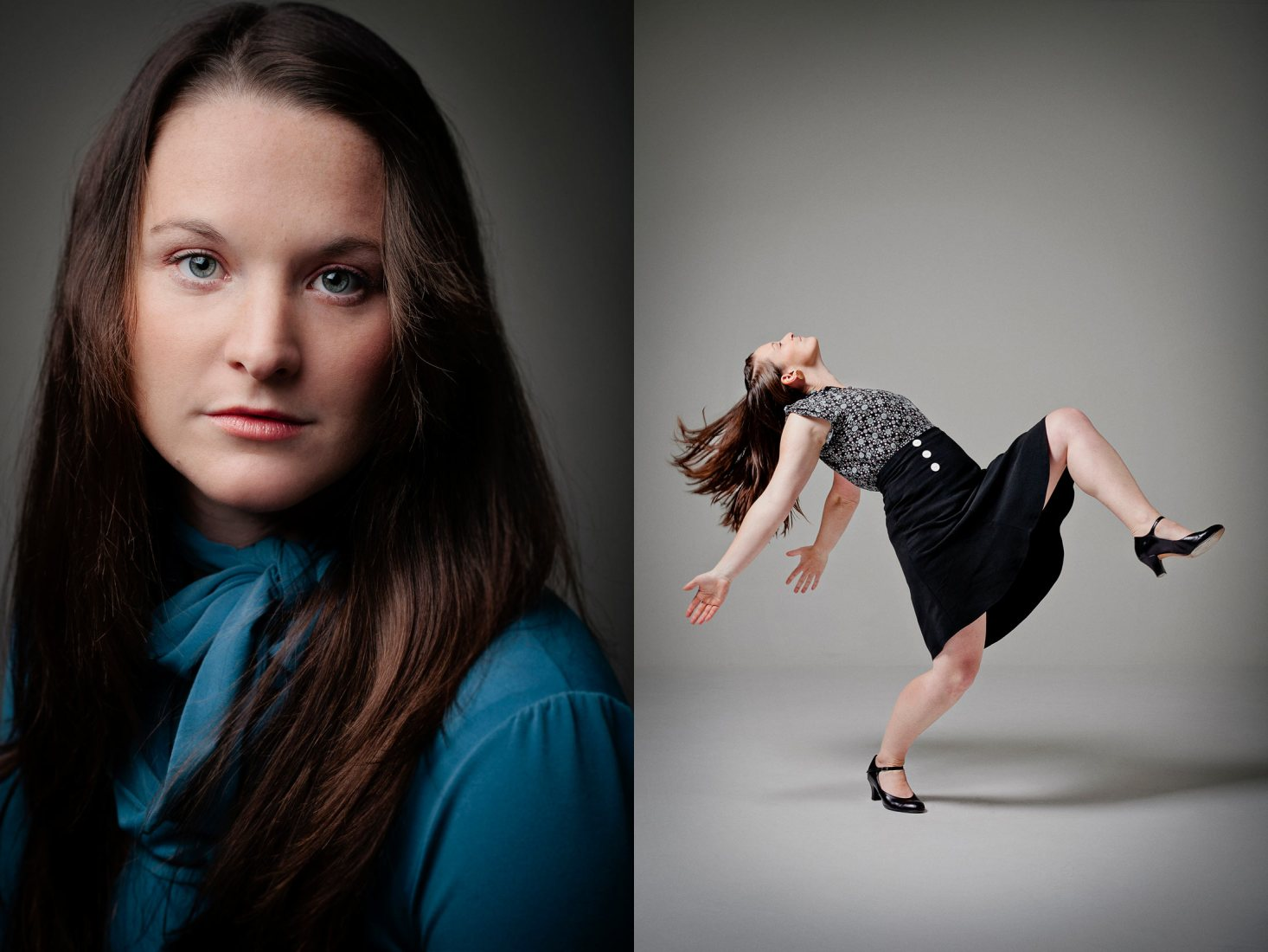 Creative portrait photography of dancers - by Brence Coghill, Melbourne photographer of Image Workshop photography