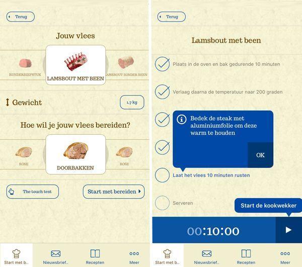 Afbeeldingsresultaat voor steak & roast app