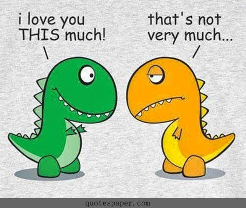 t rex loves you this much